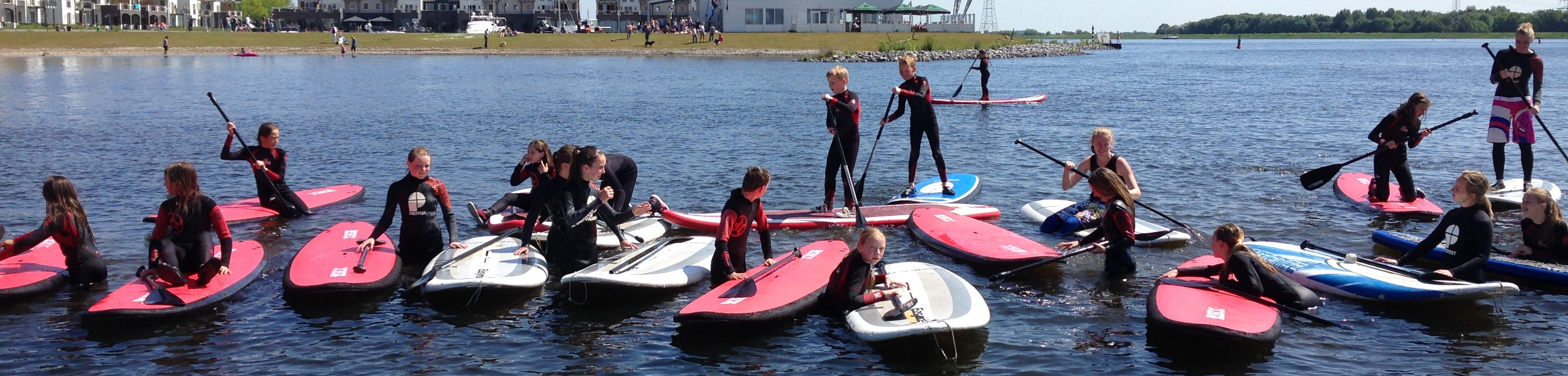Suppen / windsurfen kinderfeestje | Eemhof Watersport & Beachclub