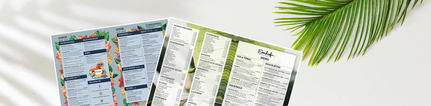 Eten aan het strand | Eemhof Watersport & Beachclub