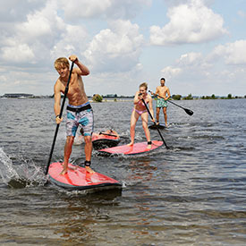Suppen bedrijfsuitje | Eemhof Watersport & Beachclub