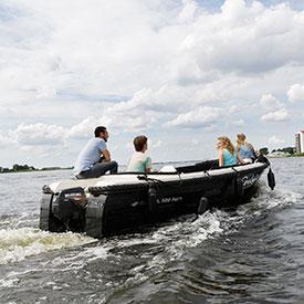 Sloep varen bedrijfsuitje | Eemhof Watersport & Beachclub
