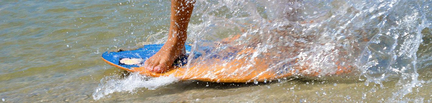 Skimboarden | Skimboarding | Eemhof Watersport & Beachclub