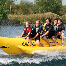 Banenenboot kinderfeestje | Eemhof Watersport & Beachclub