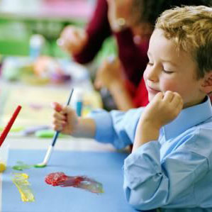 Schilderworkshop kinderfeestje
