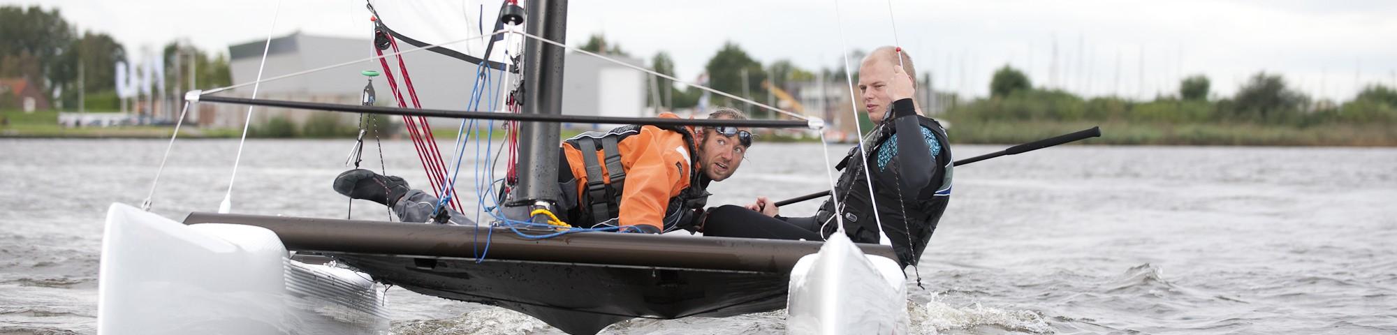 Catamaran zeilen | Eemhof Watersport
