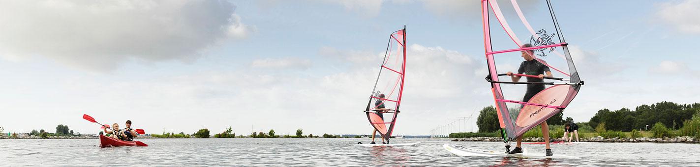 Windsurfles voor gevorderden | Eemhof Watersport