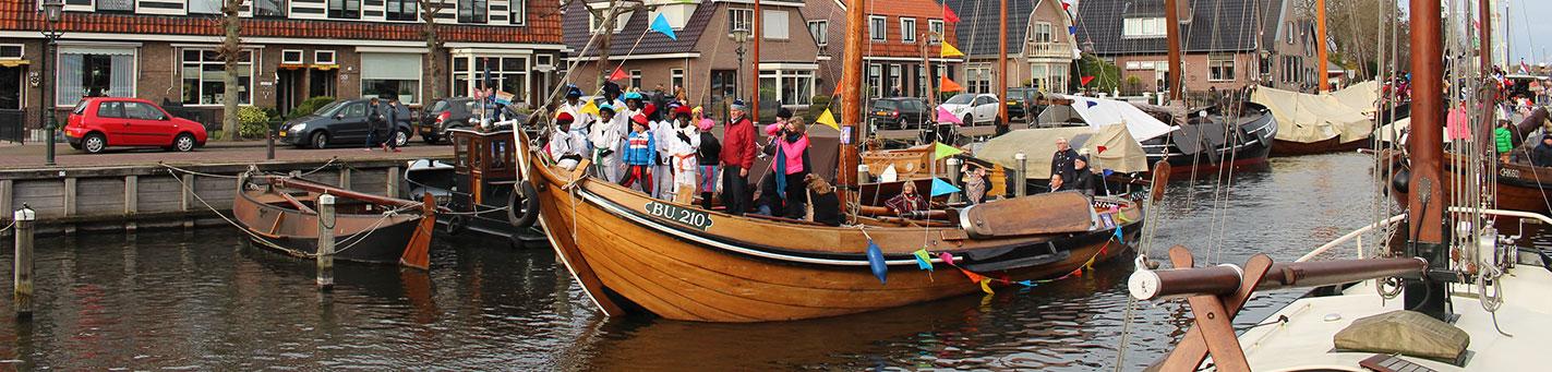 Speedbootpieten bij intocht Sinterklaas