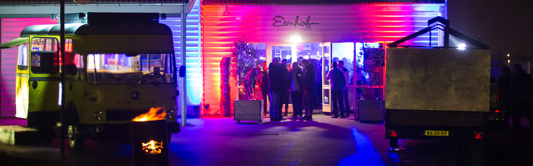 Bedrijfsfeest in de winter | Eemhof Watersport & Beachclub