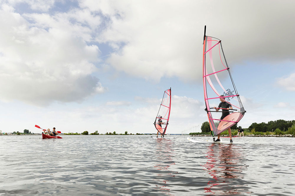 Windsurfen | Windsurf verhuur | Windsurf les | Eemhof Watersport & Beachclub