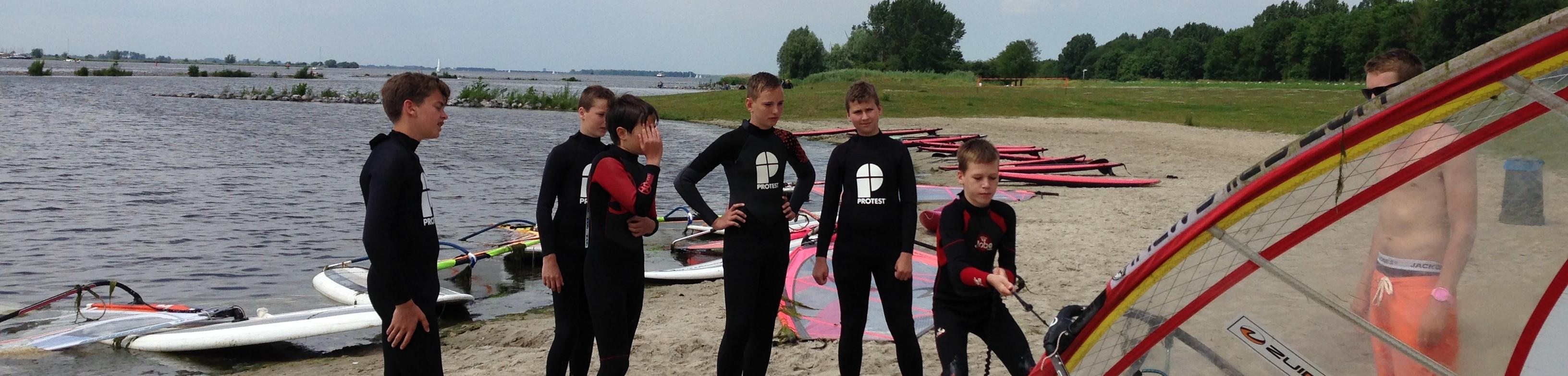 Windsurfschool   Windsurflessen   Eemhof Watersport