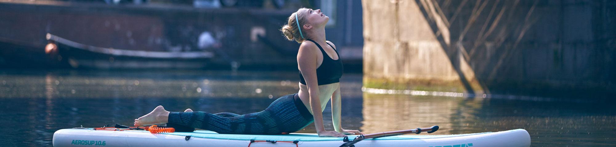SUP yoga | Eemhof Watersport & Beachclub