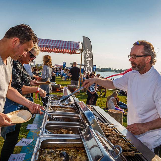 Gezond eten Healthy Fest | Eemhof Watersport & Beachclub