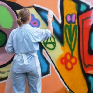 Graffiti workshop | Outdoor bedrijfsuitje | Eemhof Watersport & Beachclub