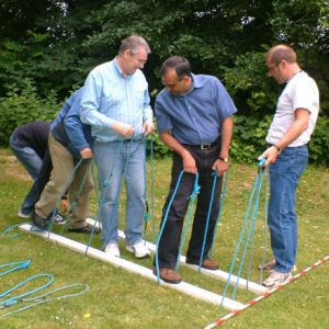 Tradiotionale zeskamp | Teambuilding | Eemhof Watersport & Beachclub