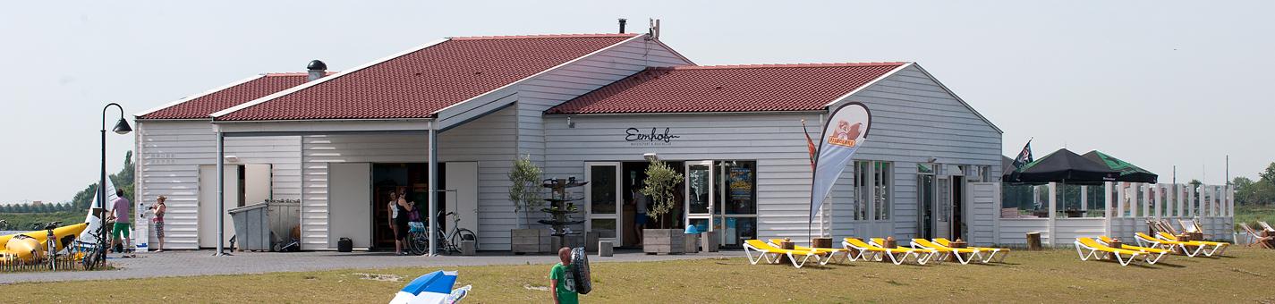 Eemhof Watersport & Beachclub gesloten wegens verbouwing