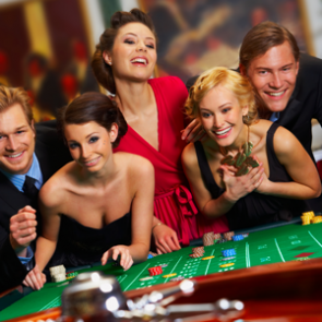 Las Vegas casino avond bij Eemhof Watersport & Beachclub